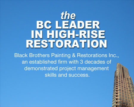 the BC Leader in High-Rise Restoration