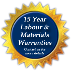 Black Brothers 15 years labour and materials warranties